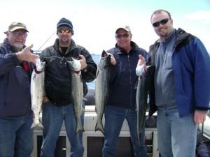 From left, Bob Forrester, Mark Dunn, Tom Dunn, Ross Dunn