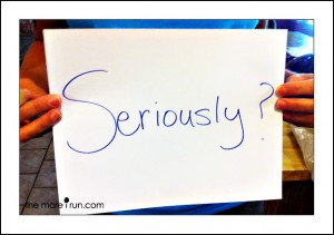 "A pic of a piece of paper with ""Seriously?"" written on it"
